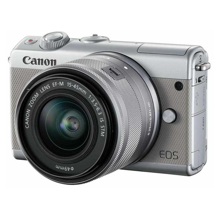 دوربین بدون آینه کانن EOS M100 بالنز 15-45mm