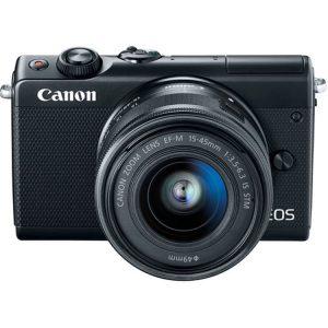 دوربین بدون آینه کانن EOS M100 با لنز 15-45mm