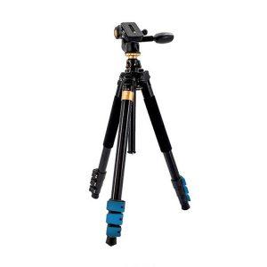 سه پایه دوربین بیک (Beike Q600 (Blue