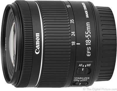 دوربین کانن 750d با لنز 55-18